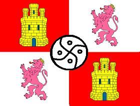 La bandera rojigualda española